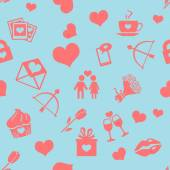 Background for Valentines Day — Stock Vector