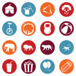 Set of Circus Icons — Stock Vector #67788953