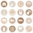Set of Circus Icons — Stock Vector #67789065