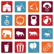 Set of Circus Icons — Stock Vector #67789301