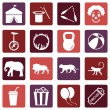 Set of Circus Icons — Stock Vector #67789435