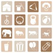 Set of Circus Icons — Stock Vector #67789587
