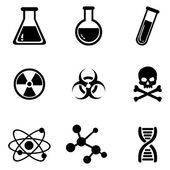 Set of Chemistry Icons. — Stock Vector