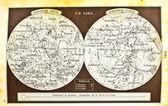 Stare mapy nieba — Zdjęcie stockowe
