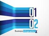 Affärer infographics — Stockvektor