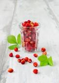 Reife erdbeeren — Stockfoto
