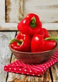 Ripe bell pepper — Stock Photo