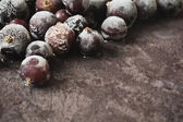 Frozen  black currant — Stock Photo