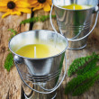 Yellow fragrant candles — Stock Photo #62127107