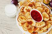 Traditional european breakfast — Stock Photo
