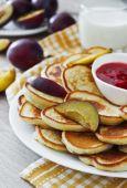 Freshly baked fritters — Stock Photo