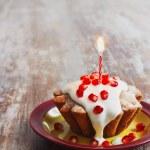 festliche cupcake — Stockfoto #66427963