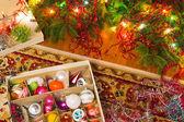 Preparing for Christmas — Stock Photo