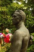 Rzeźba mężczyzny — Zdjęcie stockowe