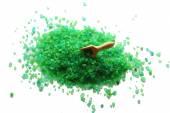Pieces of sea salt — Foto de Stock