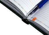 Pen and organizer — Stock Photo