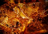 Cola avec glace — Photo