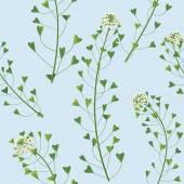 Wildflowers pattern — Stock Vector