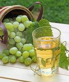 Glass of Grape Juice — Stock Photo