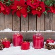 Candles in the Snow — Stock Photo #56059959