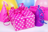 Colorful Birthday Present — Стоковое фото