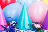 Birthday Party Hats — Stock Photo