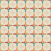 Seamless floral pattern for invitation — Stock Vector
