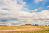 Famous places in the beautiful Tuscany — Stock Photo