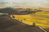 Tuscan autumn image — Stockfoto