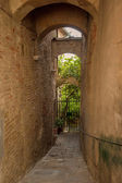 Tuscan city corners and alleyways, Italy — Stock Photo