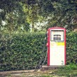Old and abandoned fuel distributor in vintage style, — Stock Photo #60289395