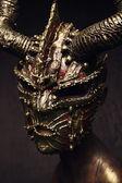 Gothic Ancient mask — Stockfoto