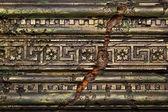 Ancient wall decor element — Stock Photo