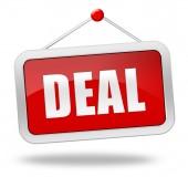 Deal — Stockfoto