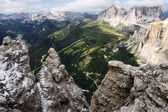 Dolomites Mountains in Summer — Stock Photo