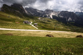 Dolomites Mountains in Summer — 图库照片