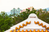 Asian Architecture Rooftop — Foto Stock