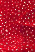 Red Christmas Stars Background — Stock Photo