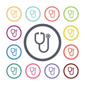 Medical flat icons se — Stock Vector