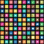 100 art, design icon — Stock Vector #56216279