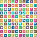 100 economy icon — Stock Vector #56217283