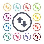 Arrow flat icons se — Vetorial Stock