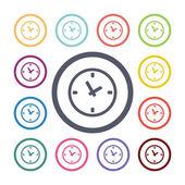 Watch flat icons se — Vetorial Stock