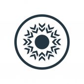 Abstract creative star ico — Vetorial Stock
