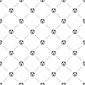 Vector seamless pattern, pig — Stock Vector
