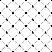 Vector seamless pattern, turtle — Stock Vector