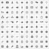 100 Business icons — Stock vektor