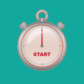 Timer illustration — Stock Vector