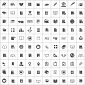 100 books icon — Stockvektor