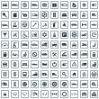100 auto icons — Stock Vector #67194929